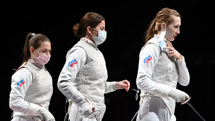 Путин поздравил российских рапиристок с золотом ОИ в командном турнире