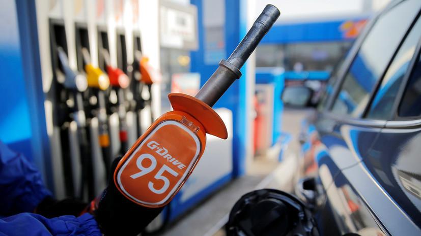 Росстат рассказал о росте цен на бензин в июле