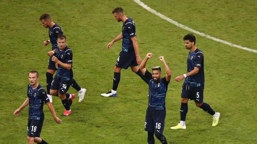 Федотов поблагодарил игроков «Сочи» за выход в третий отборочный раунд Лиги конференций