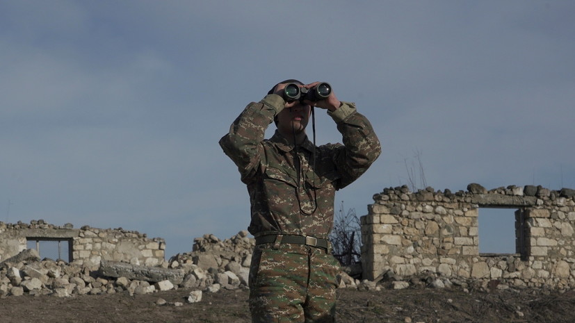В Армении заявили о попытке нарушения воздушной границы страны