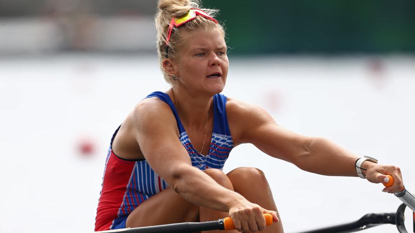 Россиянка Пракатень завоевала серебро в академической гребле на Олимпиаде