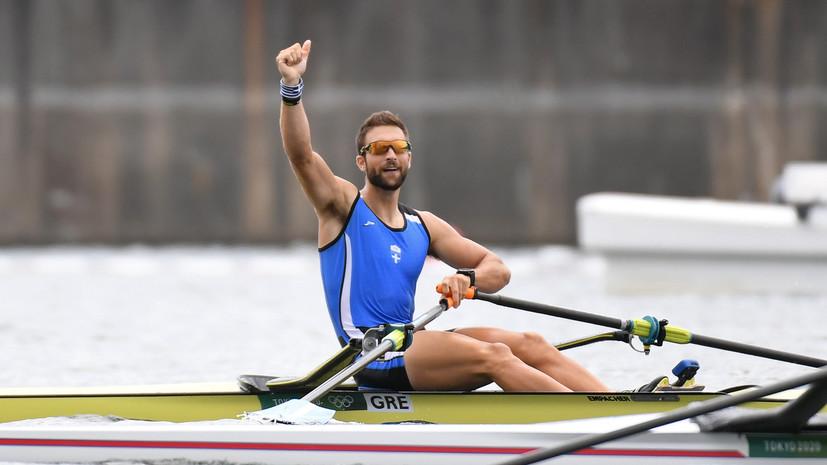 Грек Дускос стал олимпийским чемпионом в академической гребле, Вязовкин — пятый