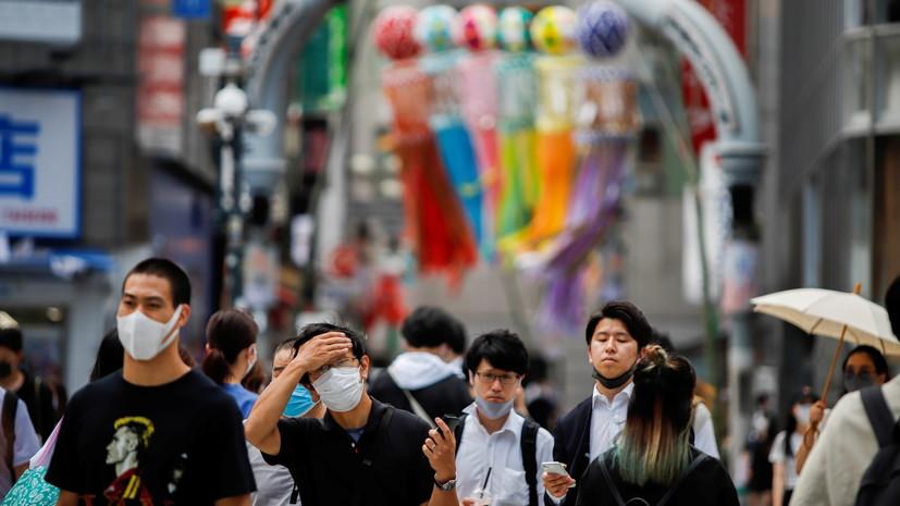 В Токио продлили режим ЧС из-за коронавируса