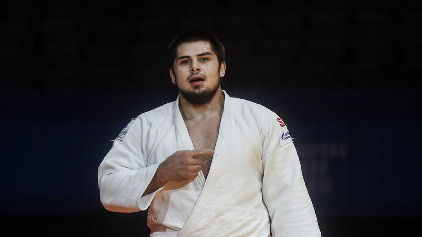 Дзюдоист Башаев вышел в четвертьфинал Игр в Токио в весе свыше 100 кг