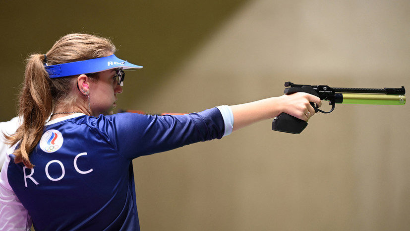 Бацарашкина вышла в финал турнира по стрельбе из пистолета с 25 м на Олимпиаде
