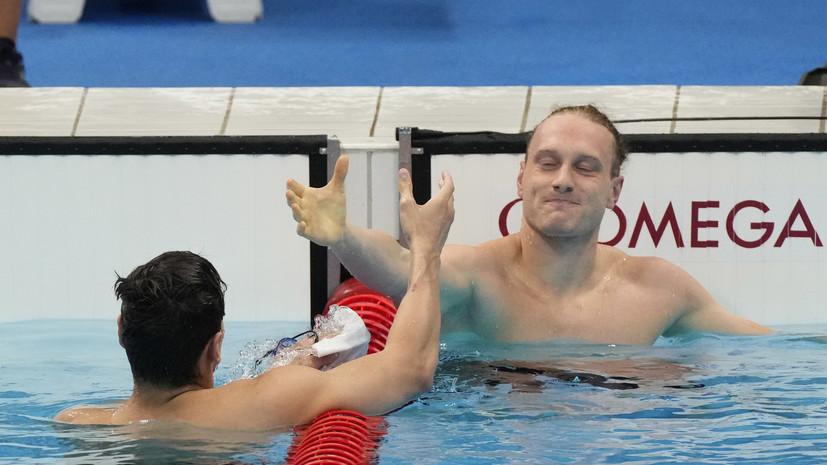 Британский пловец Гринбанк после победы Рылова высказался по поводу допинга