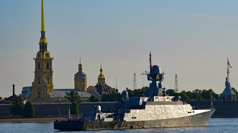 В Петербурге ожидаются ливни с грозами