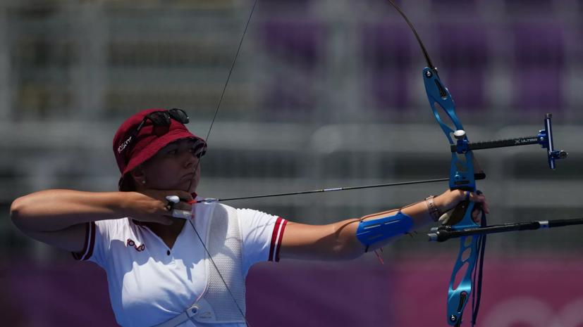 Лучница Осипова завоевала серебро Олимпиады в Токио