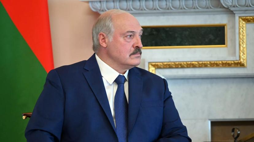 Лукашенко заявил о попытках Запада оставить белорусов без зарплат