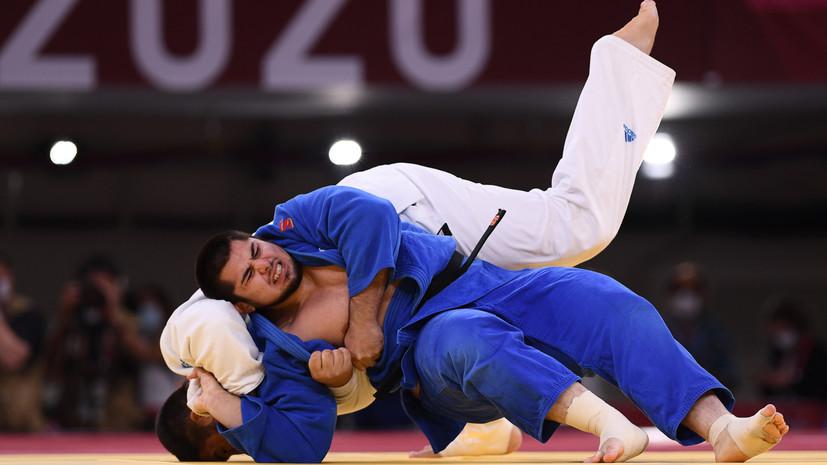 Дзюдоист Башаев завоевал бронзу Олимпиады в весе свыше 100 кг