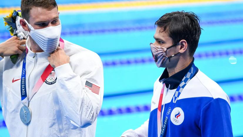 Пловец Рылов заявил, что слова Мёрфи о допинге были неверно расценены