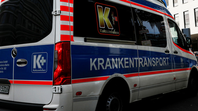 Почти 20 человек пострадали в ДТП с туристическим автобусом в Германии
