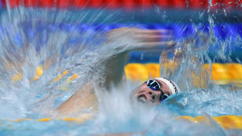 Пловец Мартынычев вышел в финал ОИ на дистанции 1500 м вольным стилем