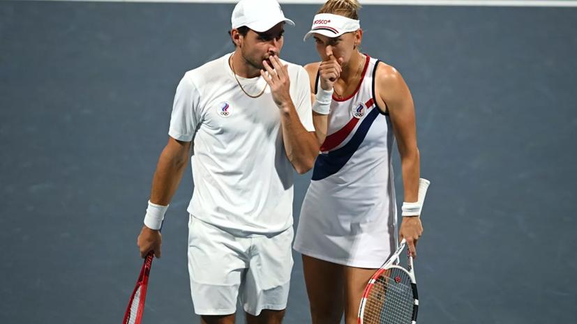 Российские пары встретятся в финале теннисного микста на ОИ в Токио