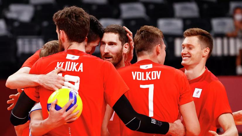 Российские волейболисты уступили команде Франции на ОИ в Токио