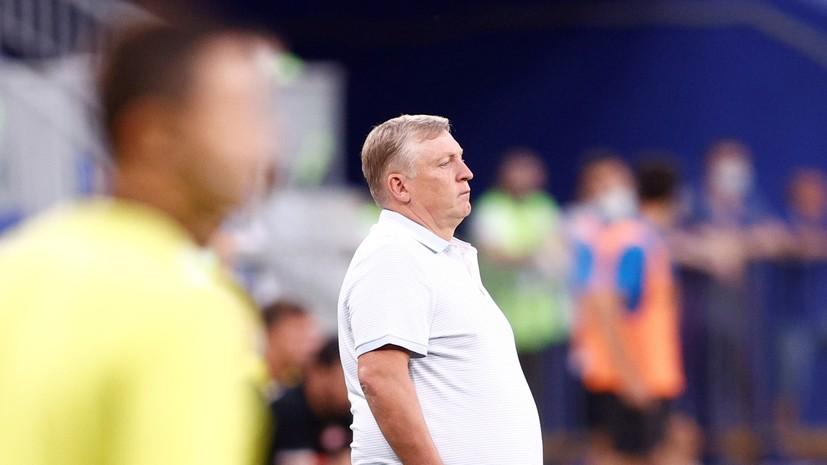 Главный тренер «Крыльев Советов» оценил дебют Пиняева в РПЛ
