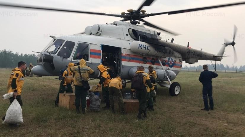 В России за сутки потушили 51 лесной пожар