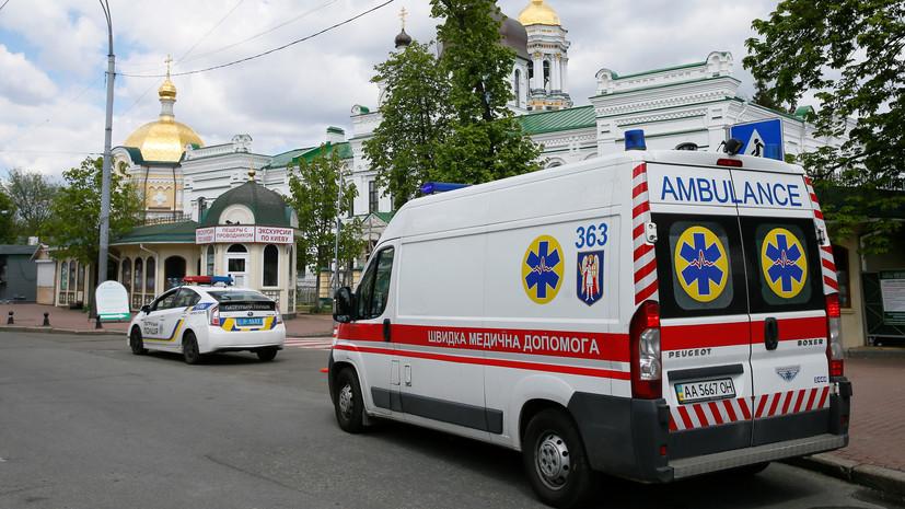 На Украине за сутки зафиксировано 916 случаев СOVID-19