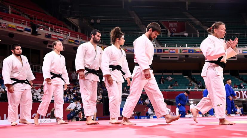 Российские дзюдоисты уступили в полуфинале и сразятся за бронзу командного турнира ОИ