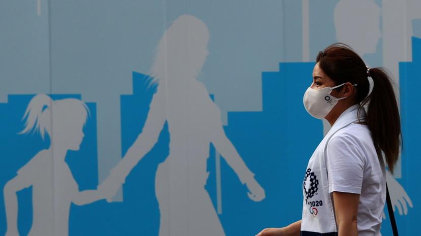 В Токио обновлён максимум суточных заболеваний коронавирусом