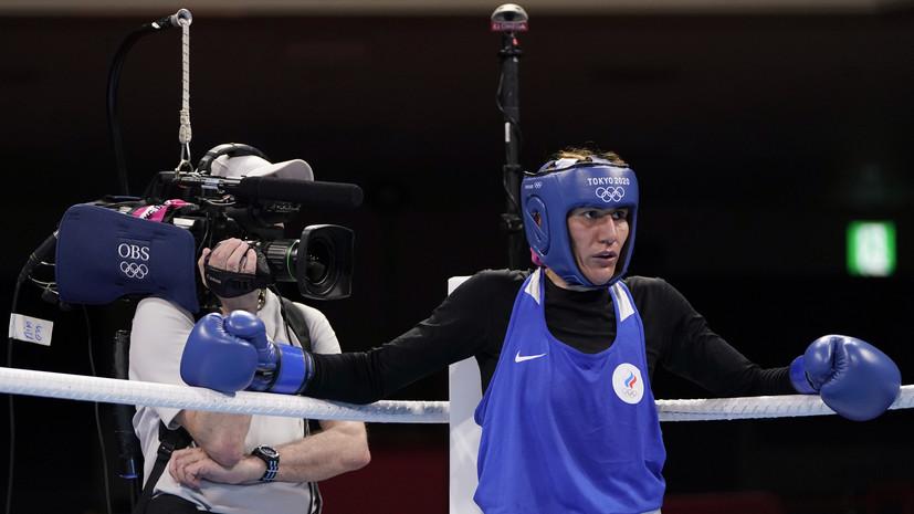 Магомедалиева вышла в полуфинал турнира по боксу на ОИ в Токио