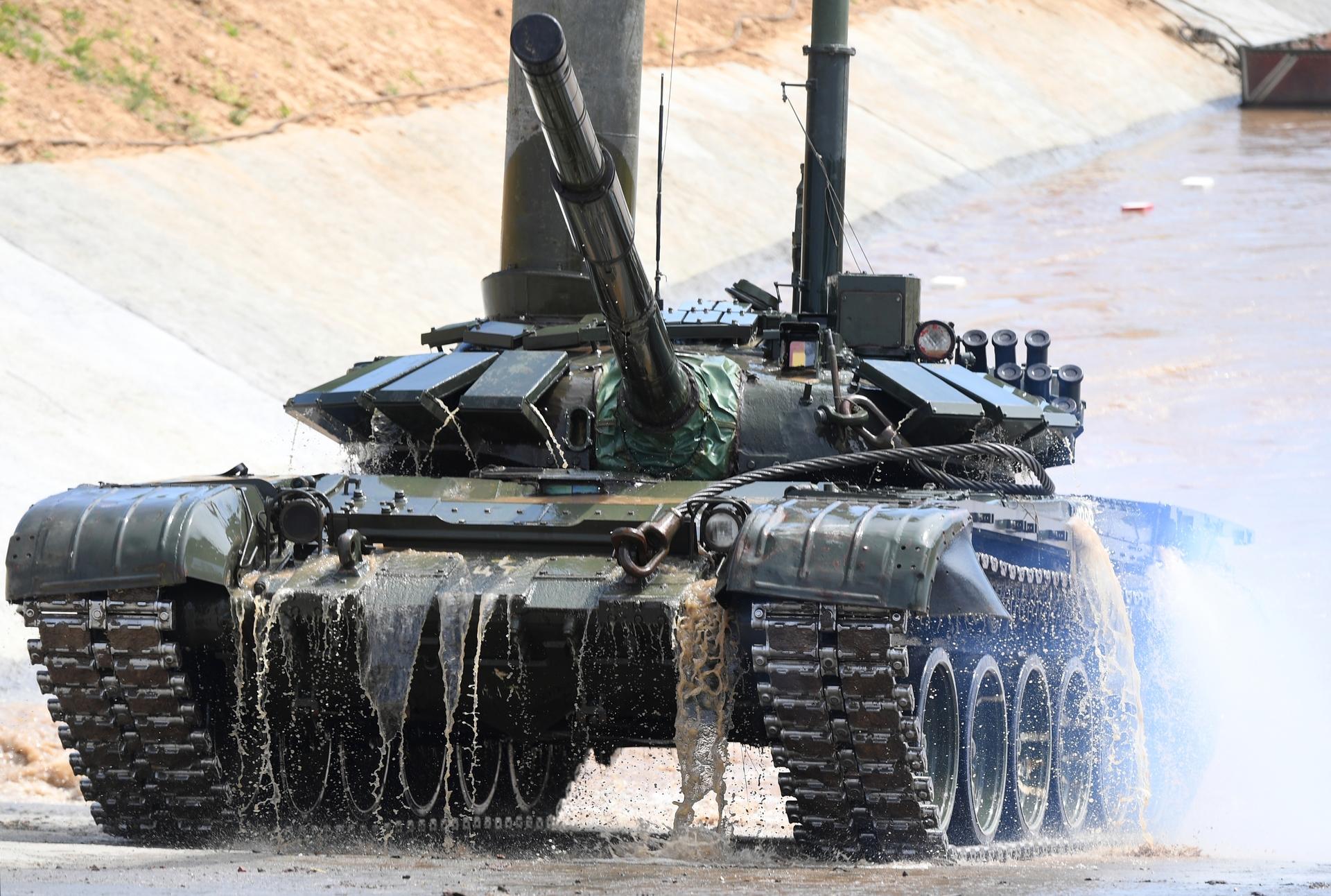 «Манёвром и огнём»: как «подводные марши» усиливают потенциал российских танковых войск1