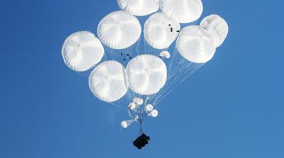 Ростех начал испытания парашютов для броневиков Тайфун-ВДВ и Тигр