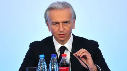 Президент РФС Александр Дюков