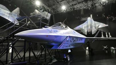 Прототип нового лёгкого однодвигательного истребителя пятого поколения Cheсkmate (Су-75)