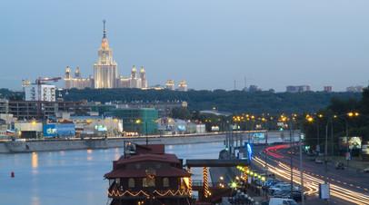 В Москве благоустроят бывшую промзону на Бережковской набережной