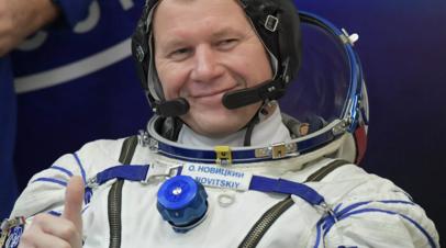 Космонавты обратились к российским спортсменам в преддверии Олимпийских игр