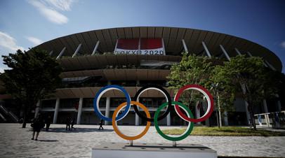 При пустых трибунах: в Токио проходит церемония открытия XXXII летних Олимпийских игр