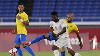 Бразилия не сумела обыграть Кот-д'Ивуар на мужском футбольном турнире ОИ