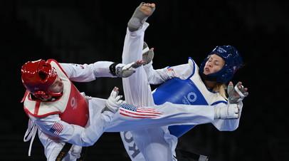 Американка Анастасия Золотич (слева) и россиянка Татьяна Минина (справа)