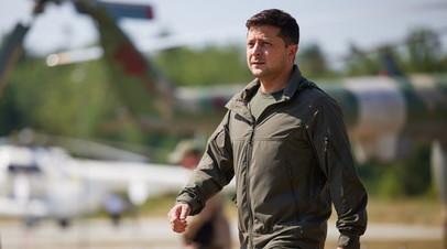 Президент Украины Владимир Зеленский на мероприятиях по случаю Дня Сил специальных операций