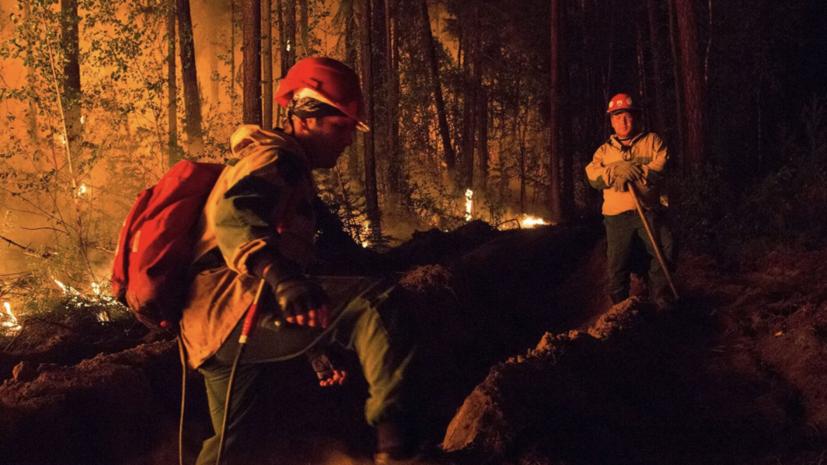 В Минобороны рассказали о борьбе с лесными пожарами в Якутии