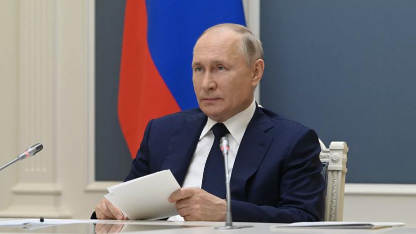 Путин поздравил работников железных дорог с профессиональным праздником