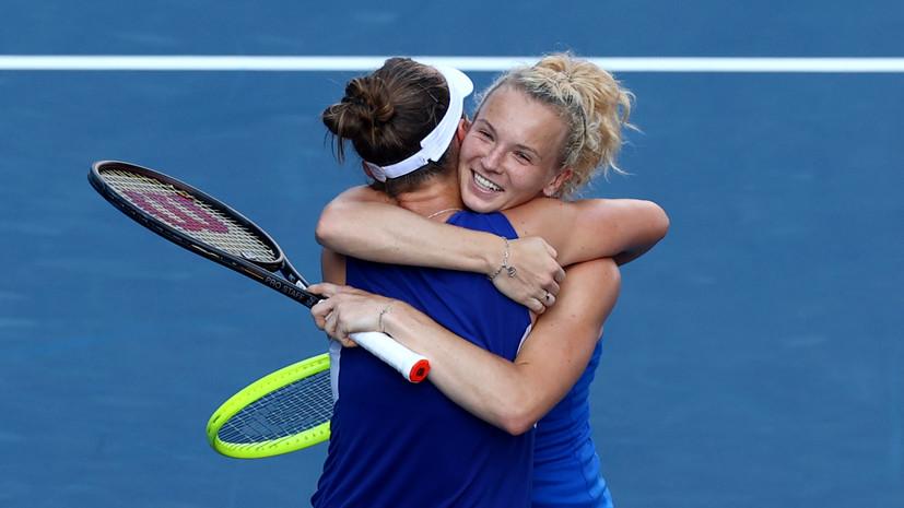 Крейчикова и Синякова стали олимпийскими чемпионками по теннису в парном разряде