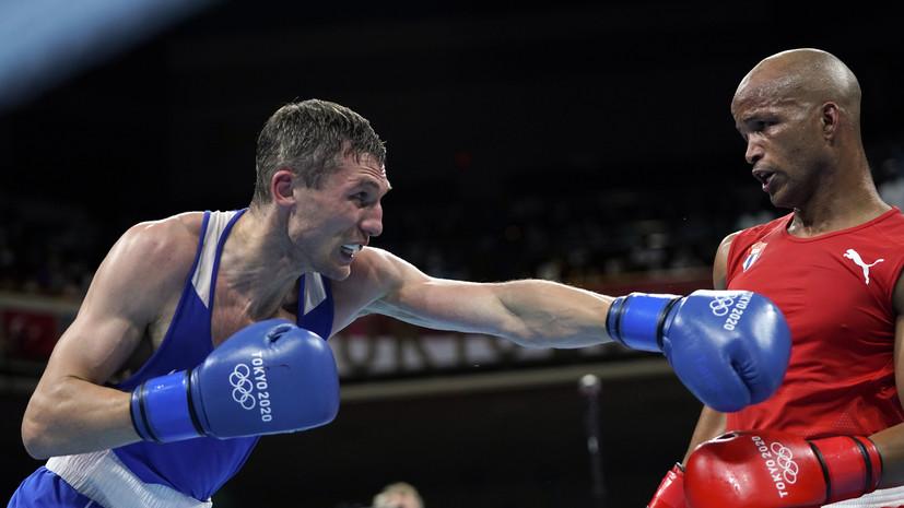 Боксёр Замковой стал бронзовым призёром Олимпиады в Токио
