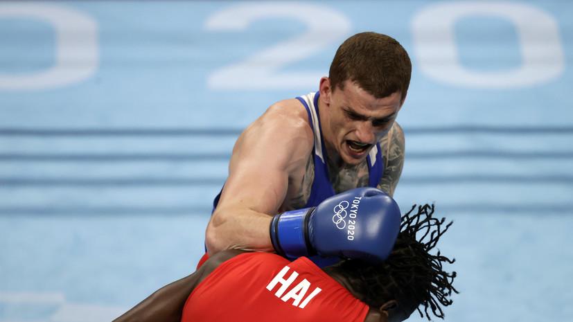 Боксёр Бакши вышел в полуфинал Игр в Токио