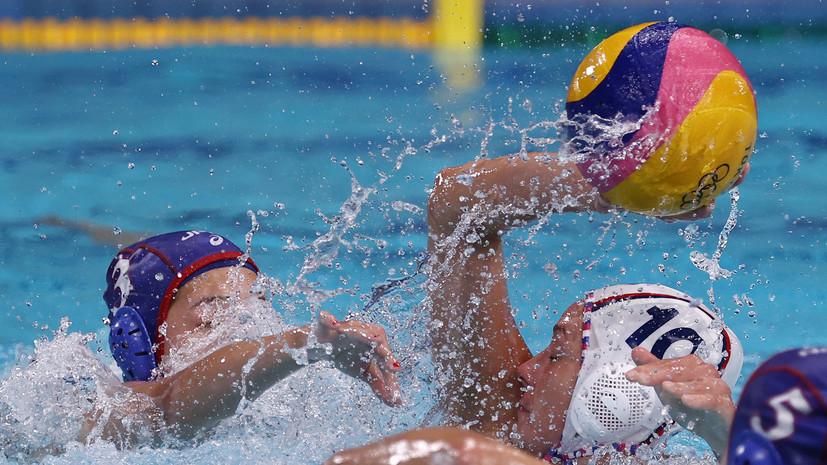 Россия победила Японию на женском турнире ОИ по водному поло