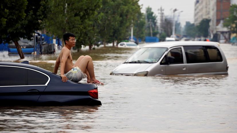 Число жертв наводнения в китайской провинции Хэнань увеличилось до 302