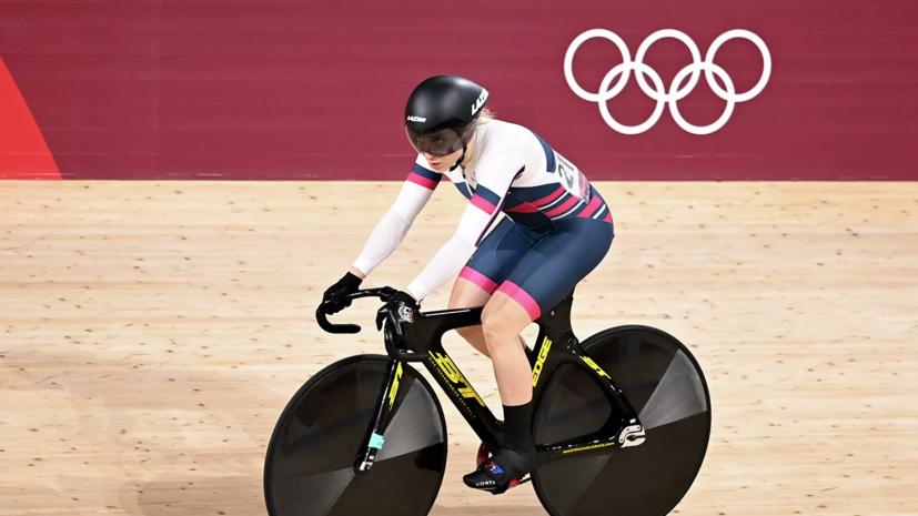 Войнова и Шмелёва завоевали бронзу ОИ в спринте в велотреке
