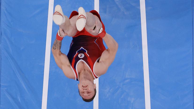 Аблязин завоевал серебро ОИ в опорном прыжке