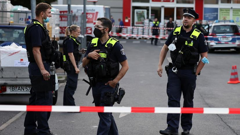 В Берлине более 60 полицейских получили травмы в ходе протестов