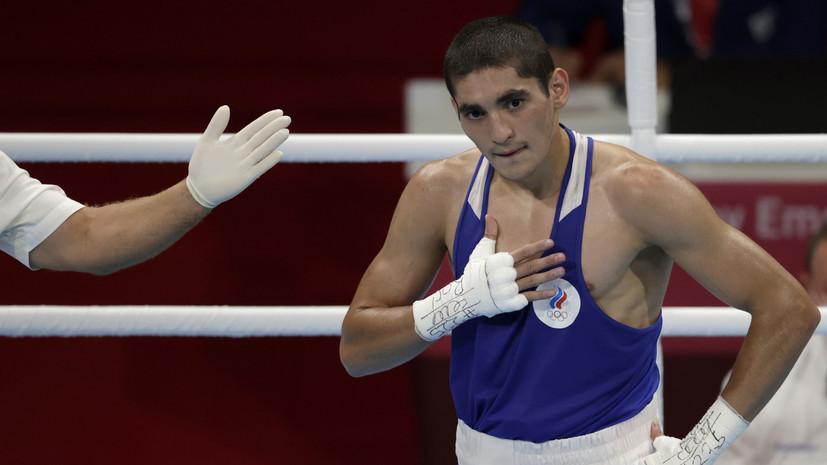 Боксёр Батыргазиев пробился в финал Олимпиады в весе до 57 кг