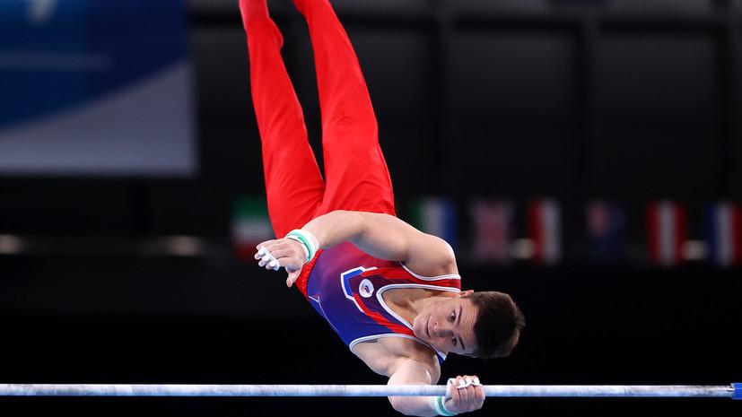 Гимнаст Нагорный завоевал бронзу в упражнениях на перекладине на Олимпиаде