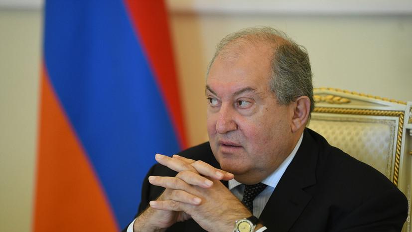 Президент Армении назначил вице-премьером страны Мгера Григоряна