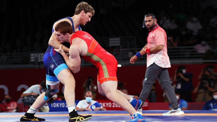 Евлоев завоевал золото в греко-римской борьбе в весе до 97 кг на Олимпиаде