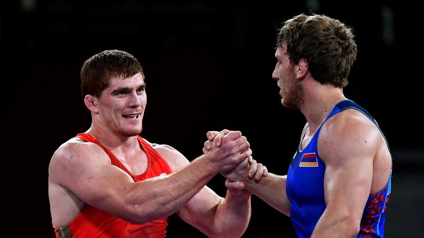 Армянский борец Алексанян после поражения от Евлоева в финале ОИ: надо быть из России, чтобы выиграть